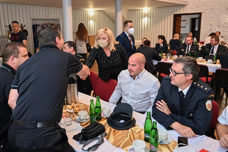 Do Slezské Ostravy přijela ministryně financí Alena Schillerová
