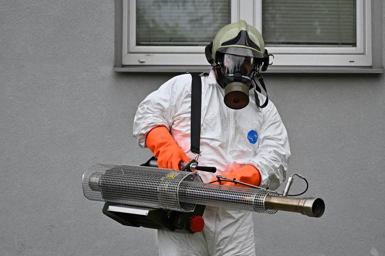 Generátor teplé mlhy bojuje proti koronaviru