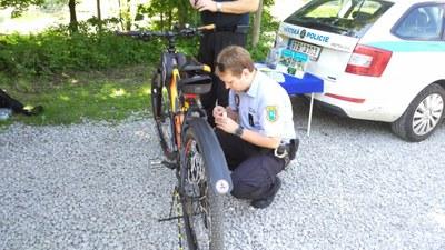 Nechte si své kolo označit proti krádeži