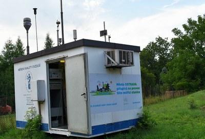 Nová, v pořadí již pátá měřicí stanice financovaná městem je již v provozu