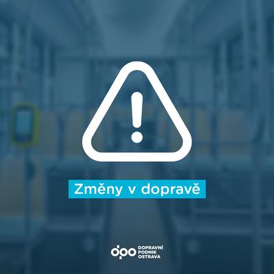 Omezení provozu linek MHD