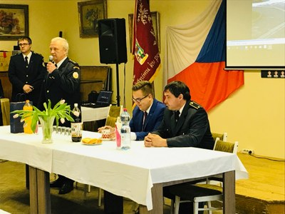 Oslavy 120 let sboru dobrovolných hasičů Kunčičky