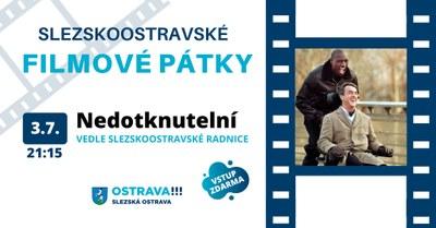 První promítání letního kina pořádáme v pátek 3. července