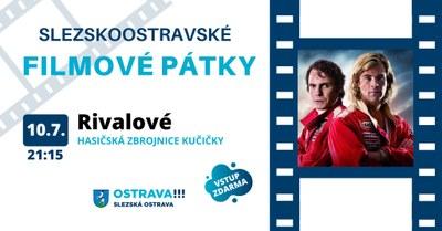 V pátek 10. července budeme promítat film Rivalové