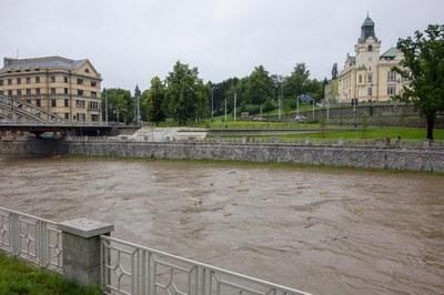 Velká voda v Ostravě