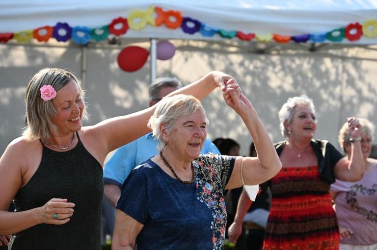 Zahradní slavnost pro seniory