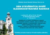 Zveme na Den otevřených dveří slezskoostravské radnice