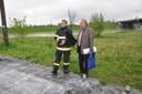 2010 - Po celou dobu sledoval dění v Koblově starosta Antonín Maštalíř.