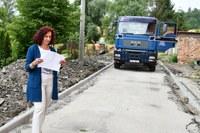 Opravy chodníků a vozovek
