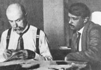 V. Sapík s T. G. Masarykem